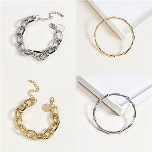 New Animal Leopard Head Design Bracelet With Green Evil Eyes Micro Zircon Stones Paved Pendant Link Chain Bracelet Women Jewelry#242