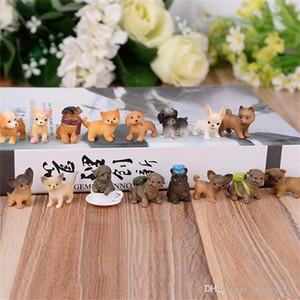 Yeni Yaratıcı DIY Yapay Evcil köpek Oyuncak Manuel Reçine Mikro Peyzaj Sanatları Süsleme Bonsai Güzel Mini Telefon Askı birçok türde 1 45xz