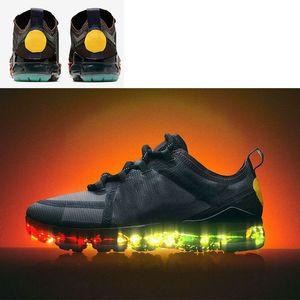 CPFM x Nike Air VaporMax 2019 SIYAH REFLECTIVE statik Gerçek Formu KİL HESAPLAYıM Antlia ZEBRA Glow bayan tasarımcı mens spor sneakers boyutu 36-45