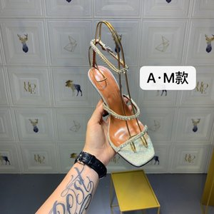 Summer Women's Fashion High Sandals Casual Lady Outdoor Classic Rhinestone High heel shoes 7O2O
