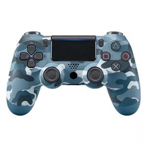 Sans fil Bluetooth PS4 Contrôleurs de jeu sans fil 22 couleurs pour PS4 Vibration Joystick Gamepad Contrôleurs de jeu dans l'emballage