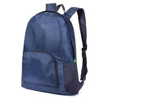 uomini Designer- donne borse portatili di viaggio esterna pieghevole leggera impermeabile borsa sportiva zaino in sella zaino deposito di borsa di pelle