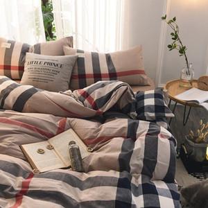 Controllare Cotone addensare Bedding Suit Quilt Cover 4 Pics Duvet Cover di alta qualità letto di Bedding Supplies Home Textiles