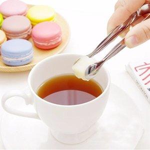 1pc Kahve Şeker Klip Paslanmaz Çelik Cımbız Mini Kelepçe Tong Klipler Kahve Ice Cube küçük Çay Klipler Mutfak Bar Aracı Temini Yeni Tanıtım