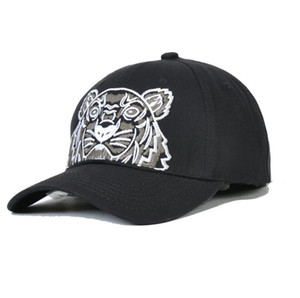 Tiger Head Designer Baseball Cap Brand Baseball Caps for Mens Woman 4 Season Hat 3 Color Optional Highly Quality