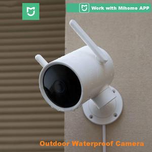 2020 inteligente Outdoor Camera PTZ impermeável ângulo webcam em 270 visão 1080P dupla antena de sinal Wi-Fi IP Cam Noite Mi casa APP