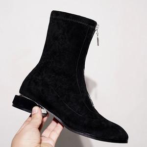 Kadınlar Bilek Boots Sonbahar Kış Boots Fabrika Doğrudan Scrub Patik Moda Bayan Kış Ayakkabı