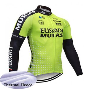 ORBEA team Cycling Winter Thermal Fleece Winter cycling jersey thermal fleece long sleeve mountain bike jersey bicycle clothing B617-49