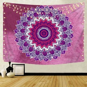 Wall Hanging Mandala Curtain Decor Starry Sky Table Cloth Bed Cover Beach Blanket Sleeping Rug Yoga Shawl Mat