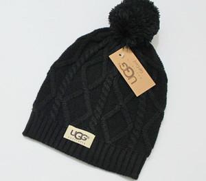 Mode Hommes D'hiver Chapeaux Femme Chaud Chapeau Designer Chapeaux Mignons Filles Bonnet À L'extérieur Cap Chapeau Marque Plis Casual Chapeaux3