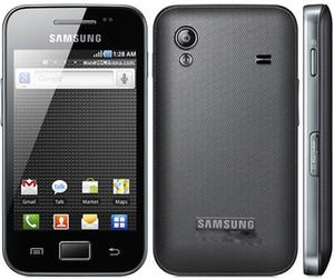S5830i Оригинальный Samsung Galaxy ACE S5830 разблокированным 5MP камера WIFI GPS 2G WCDMA Восстановленное Android мобильный телефон