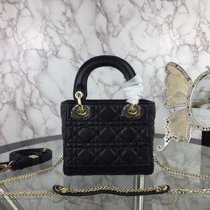 ventes à chaud mode sacs à main designer sac à bandoulière de luxe de la marque sacs à main de luxe sac mortuaire croix en cuir sacs de dame avec du matériel d'or