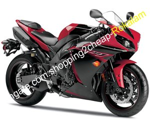 Для обтекателей Yamaha YZF R1 2012 2013 2014 YZF1000 12 13 14 YZF1000 12 13 14 YZFR1 YZF-R1 ABS Красный черный мотоцикл набор для мотоцикла (литье под давлением)