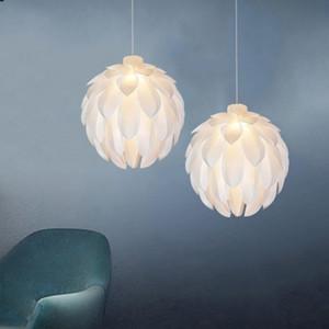 PVC fatto a mano Lampadario Nordic Light Light Design Goccia per Camera SOGGIORNO bambini decorazione della lampada Warm Dinning Table Lamp