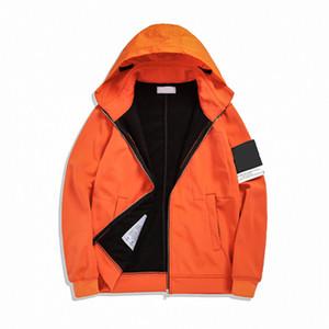 Topstoney 2020 konng gonng chaqueta de solapa, otoño e invierno chaqueta con capucha, peluche y abrigo de moda ocasional