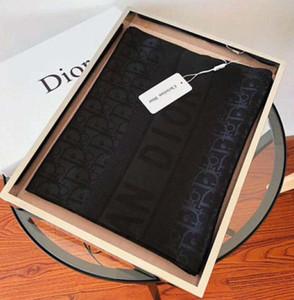 2020 Qualità lusso colorato lettera Designers sciarpa di seta donne Lettera dello scialle famoso inverno Sciarpe Instock