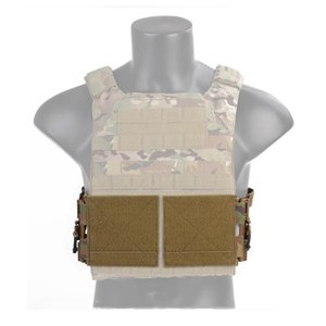 Tactical 3-Band Skeletal Cummerbund MOLLE Quick Removal Buckle Release System Set Fit for Vest JPC   419   420