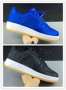 2020 coágulo x Forças Um Silk Jogo Royale Blue Black forçado PRM Baixa Running Shoes Chaussures 07 esportes Mulheres Homens Formadores 1 Sneakers 19