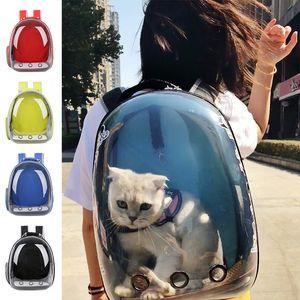 Cat-Rucksack Haustier-Katze-Rucksacks für Kitty Puppy Chihuahua Kleinen Hund Träger Kiste im Freien Reisetasche Cave für Katze