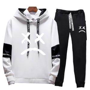 Men Sets Sport Suit Tracksuit Outfit Suit 4xl 2 Piece Set Suits Hoodies & Long Pants Warm Mens Spring Autumn Hoodie Set Clothing