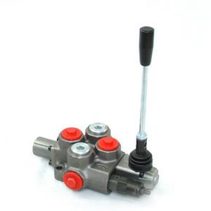heißer Großhandel manuelles hydraulisches Wegeventil Dreiwegeventil o Typ 40LPM Bau Monoblockventil
