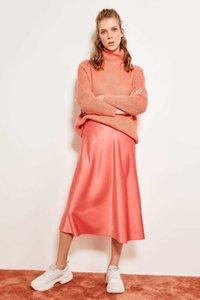 Trendyol Satin Skirt Tofss19wx0013 S416