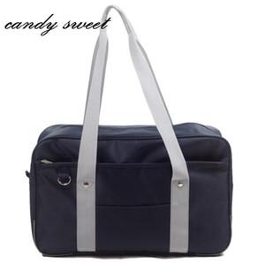 Giapponese Uniform Style JK Cosplay borsa di modo di Oxford borsa tracolla studenti delle scuole superiori Bookbag viaggio Messenger