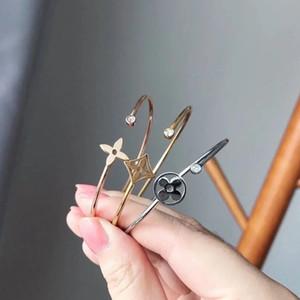 Дизайнами браслеты золото Diamond браслет с V Письмо дизайн для женщин Браслет с Top циркон бренд же стиле ювелирной моды