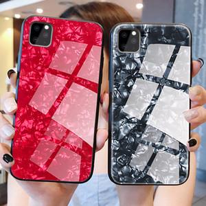 Padrão de mármore Conch temperado telemóvel caso Vidro para iPhone 11 Pro Max XS Max XR X 8 7 6s 6 Plus rígido de protecção