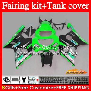Bodys + Tank für Suzuki GSX R1000 GSXR 1000 2000 2001 2002 86HC.124 grün STCOK GSX-R1000 K2 GSXR1000 GSXR-1000 00 01 02 Verkleidungsset zum Verkauf