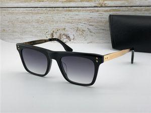 120 Black / Gray площади Солнцезащитные очки Солнцезащитные очки Sonnenbrille мужские очки Gafa де золь Новый с коробкой