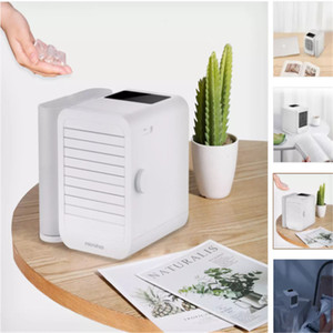 Xiaomi Youpin Microhoo Mini Air Conditioner Cooling Fan Touch-Screen 99-speed Adjustment Energy Saving Timing 6W 1000ml Water Capacity