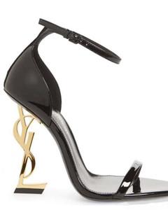 De alta qualidade mulheres sapatos Salto Alto novas sandálias de couro de luxo chinelo sapatos Chaussures mulheres formadores Sandália bag06 ar 01