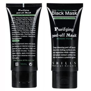 SHILLS in profondità che puliscono MASCHERINA nera 50ML comedone facciale della mascherina DHL nave veloce di qualità superiore