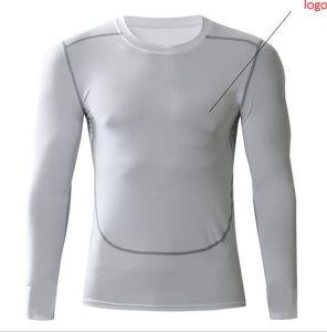 NOVA 2019 outono inverno active sport collants correndo jogging GINÁSIO Musculação fisiculturismo basquete futebol manga comprida t camisas dos homens