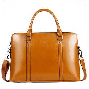 2020 de alta calidad de la moda de la PU de los hombres de las mujeres del bolso del ordenador portátil de la manga del ordenador portátil bolsas de transporte bolsa de mensajero de oficina 13 14 15 pulgadas
