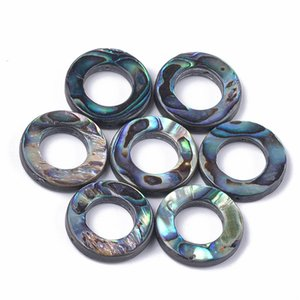 Colorful Abalone Shell Paua Shell Beads for jewelry making bracelet necklace DIY Crafts, Heart Shape,Drop Shape F80
