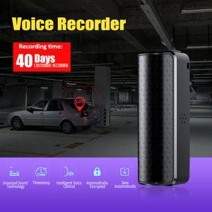 Q70 8GB Áudio Gravador de Voz magnético profissional de voz digital gravador de HD Noise Reduction mini-gravador DHL shippping livre