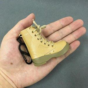 Creative coupe-vent Nouveauté Forme Bottes militaire avec ouvre Refillable Lighters gaz butane allume-cigare multifonction avec porte-clés