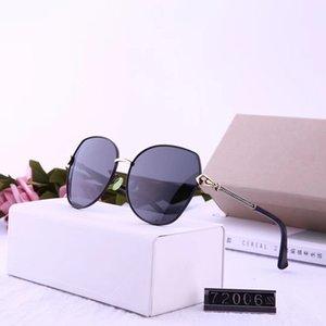 Hochwertige klassisches Pilot Sonnenbrille Marke Männer Frauen Sun-Glas-tom Brillen Gold Metal Glaslinsen Original Case Tasche # 72006 king_enen