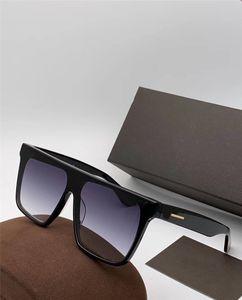 Nuevo diseñador de moda hombre y mujer gafas de sol 0709 s marco simple popular estilo de venta de calidad superior uv400 gafas protectoras con caja