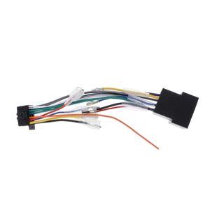 5V DVD del coche 16Pin Radio ISO haz de cables del conector del adaptador de enchufe hembra