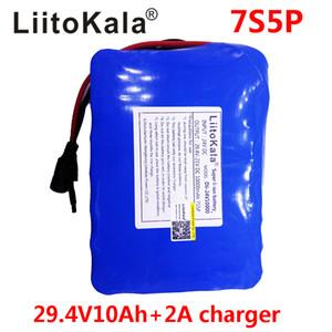 24v tekerlekli motorlu elektrik enerjisi + 2A şarj 10Ah 7S5P pil 15A BMS 250w 29.4V 10000mAh pil