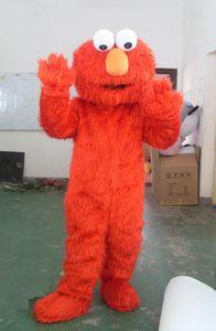 Wholesale-2018 High quality hot elmo mascot costume adult size elmo mascot costume free shipping