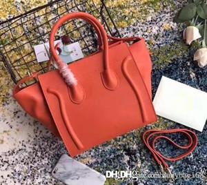 2018New Мода дизайнерские женские плохие Tote Smile Сумки Howhide Натуральная кожаный ремешок Bat сумка сцепления сумочка для Brossbody Boston Bag