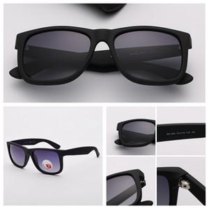 Джастин солнечных очков Mens Градиент Солнцезащитных очки Джастин поляризованного Eyeware Des Lunettes De Soleil для дадут Модные солнцезащитных очков с футляром