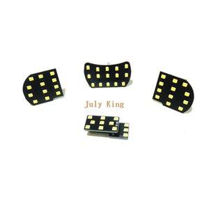 July King LED Car Interior Reading Lights Case for Chevrolet Cruze Buick Verano GT, 4pcs set, 6000K White Car Dome Light, 2835 SMD