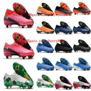 2020 Herren Fußballstühle Mercurial Superfly 7 Elite SG-PRO AC Soccer Shoes CR7 Neymar VP 13 Fußballschuhe Cristiano Ronaldo 01