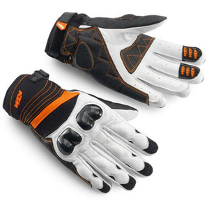 Nouvelle moto KTM gants en fibre de carbone pour les fans de moto