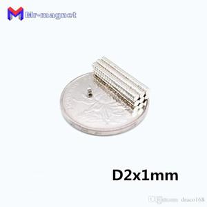 2019 imanes 200Pcs 2x1 neodimio permanente N35 NdFeB super forte Potenti piccola rotonda magnetica dischi magnetici da 2 x 1mm imanes